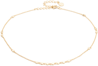 Gorjana Chloe Mini Choker Necklace $55 thestylecure.com