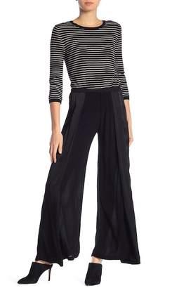 XCVI Contrast Wide Leg Pants