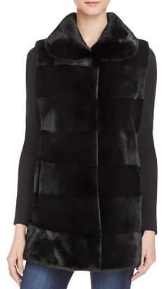 Maximilian Furs Sheared Saga Mink Fur Vest - 100% Exclusive