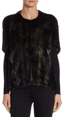 Michael Kors Metallic Mink Fur Jacket