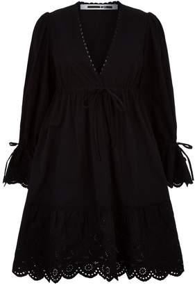 McQ Lace Trim Dress