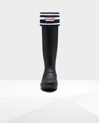 Hunter Unisex Original Garden Stripe Boot Socks