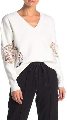 French Connection Valerie Lace Knit Jumper Sweater