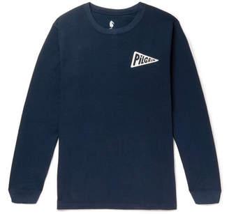 Meyer Pilgrim Surf + Supply + Kimou Printed Cotton-Jersey T-Shirt