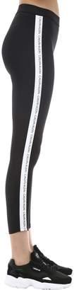 Calvin Klein STRETCH LEGGINGS W/ LOGO SIDE BANDS