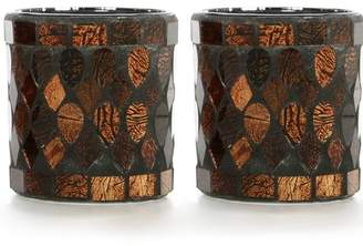 Mainstays Mosaic Glass Tealight Holder, Set of Two