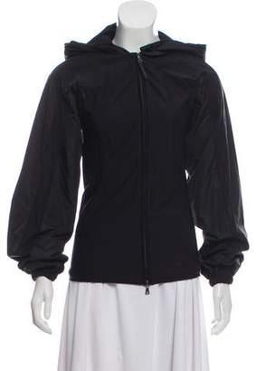 Prada Sport Hooded Athletic Jacket
