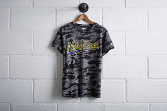 Tailgate Women's Notre Dame Camo T-Shirt