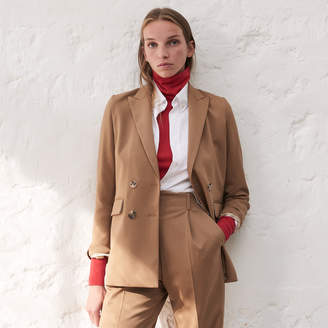 Sandro Plain tailored jacket