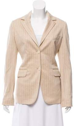 Loro Piana Structured Notch-Lapel Blazer
