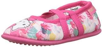 Hello Kitty Girls' HK Idiko Closed Toe Ballet Flats