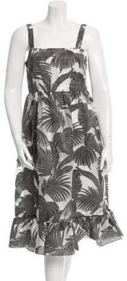Co Metallic Patterned Dress w/ Tags