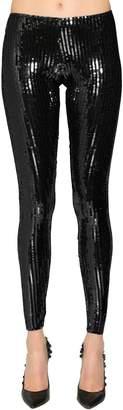 DSQUARED2 Sequined Stretch Leggings