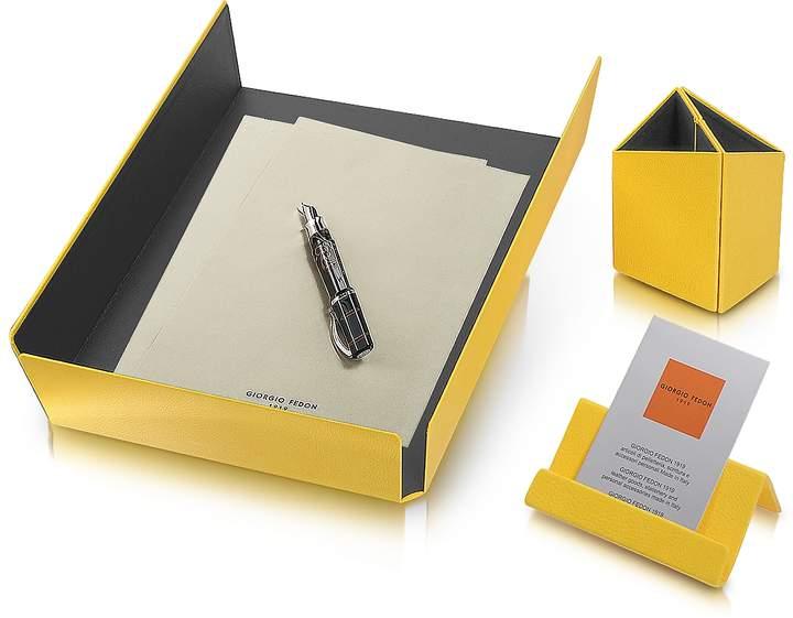 Giorgio Fedon 1919 Charme - Yellow Desk Set