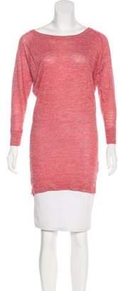 Etoile Isabel Marant Linen Blend Slub Knit Top