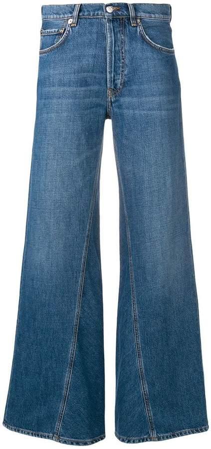 Ganni flared jeans
