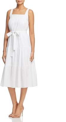 MICHAEL Michael Kors Tie-Waist Midi Dress