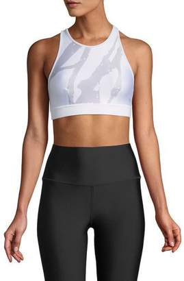 Alo Yoga Incline Open-Back Light-Support Sports Bra