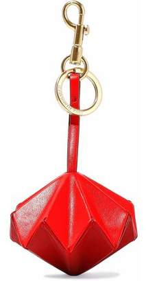 Anya Hindmarch Trigger Vertex Two-Tone Leather Keychain