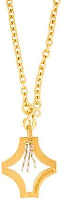 Stephanie Kantis Quartz Swag Tudor Pendant Necklace