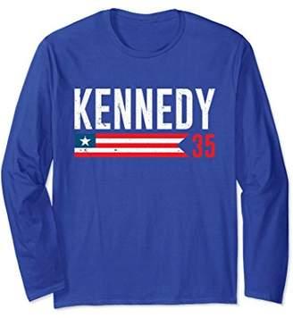 JFK John F. Kennedy 35th President Long Sleeve T-Shirt
