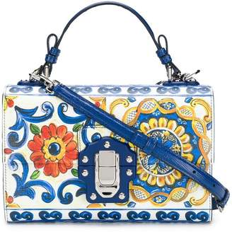 Dolce & Gabbana tile print shoulder bag