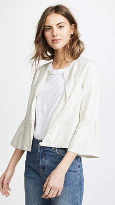 Cupcakes And Cashmere Aizzia Cropped Blazer