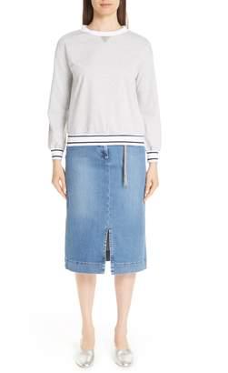 Fabiana Filippi Chain Detail Sweatshirt