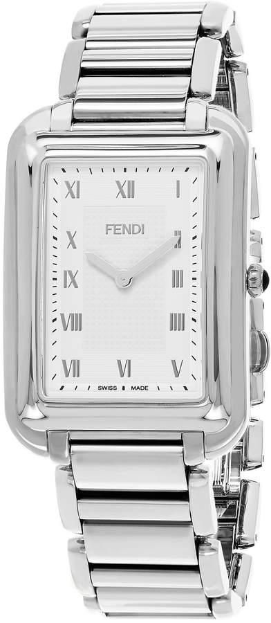 Fendi Men's F701016000 Classico Rect Analog Display Swiss Quartz Watch