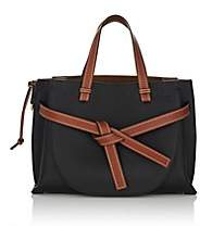 Women's Gate Leather Satchel - Black