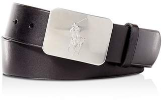 deeb46f7319 Polo Ralph Lauren Vaccetta Leather Belt