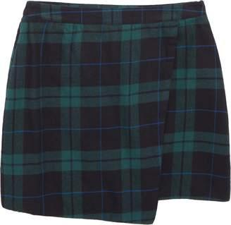 Tucker + Tate Asymmetrical Patterned Skirt