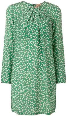 No.21 star print dress