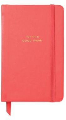 Kate Spade Put In A Good Word Notebook