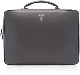 Mark Cross Baker Saffiano Leather Briefcase