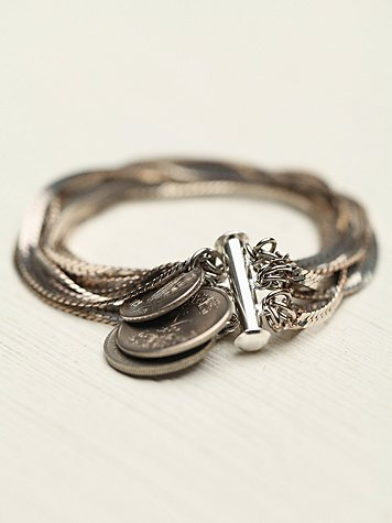 Free People Snake Charmer Bracelet