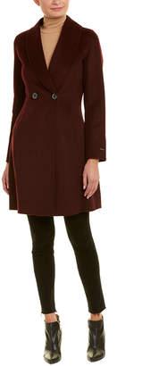 Tahari Caleigh Wool-Blend Coat