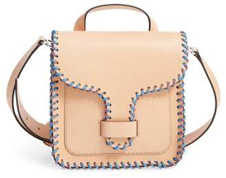 Rebecca Minkoff Top Handle Leather Feed Bag
