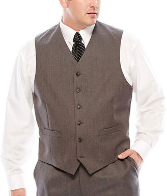 STAFFORD Stafford Travel Suit Vest - Big & Tall