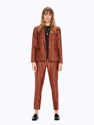 Scotch & Soda Mutli-Colored Striped Blazer