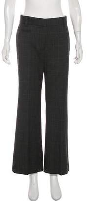 Marc Jacobs Wool Mid-Rise Pants