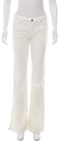 Iro Mid-Rise Wide-Leg Jeans w/ Tags