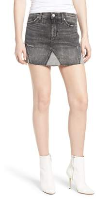 Hudson The Viper Cutoff Denim Miniskirt