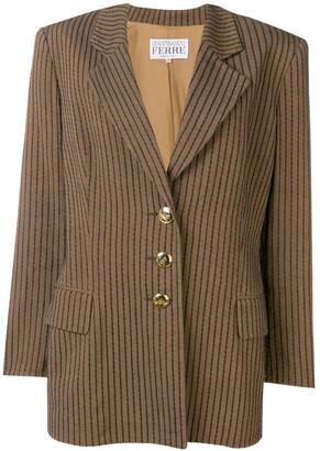 Gianfranco Ferre Pre-Owned 1980's striped blazer