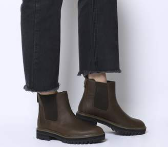 Timberland London Square Chelsea Boots Dark Rubber