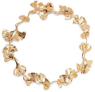 Aurelie Bidermann Tangerine Gold-plated Necklace - one size