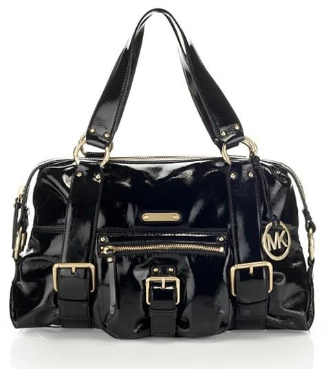 MICHAEL Michael Kors Austin Patent Shoulder Bag