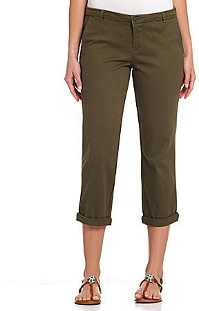 KUT from the Kloth Gwen Relaxed Cropped Trousers