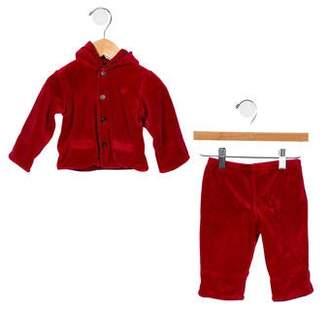Ralph Lauren Boys' Velvet Pant Set