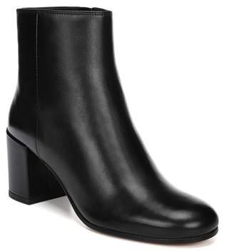 Vince Blakely Leather Block Heel Bootie